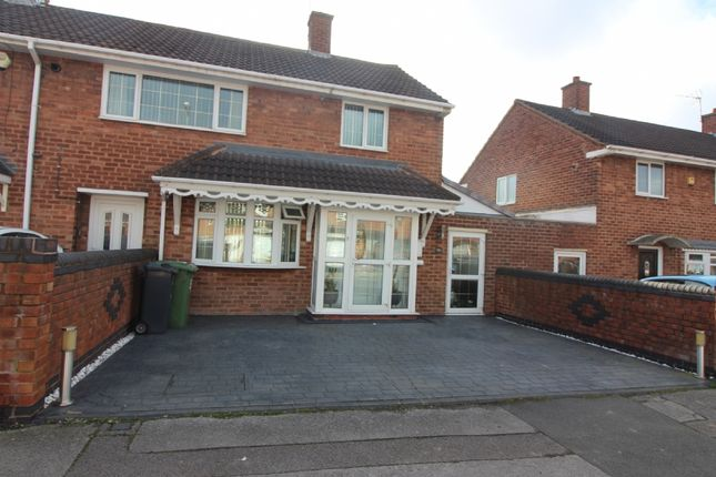Thumbnail Town house for sale in Brereton Road, Willenhall