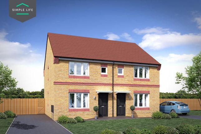 Thumbnail Semi-detached house to rent in Romanby Shaw, Greengates, Bradford