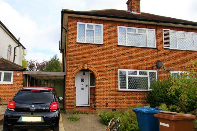 Thumbnail Semi-detached house to rent in The Ridgeway, North Harrow, Harrow