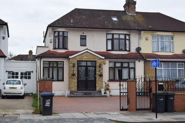 Thumbnail Semi-detached house to rent in Village Road, Enfield, London