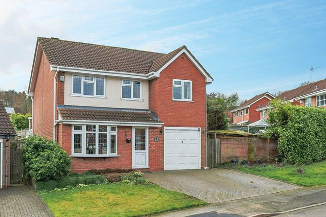 Thumbnail Detached house for sale in Rosehall Close, Oakenshaw, Redditch