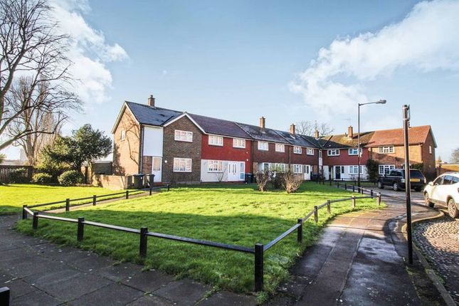 Thumbnail End terrace house for sale in Barrowfield Close, London