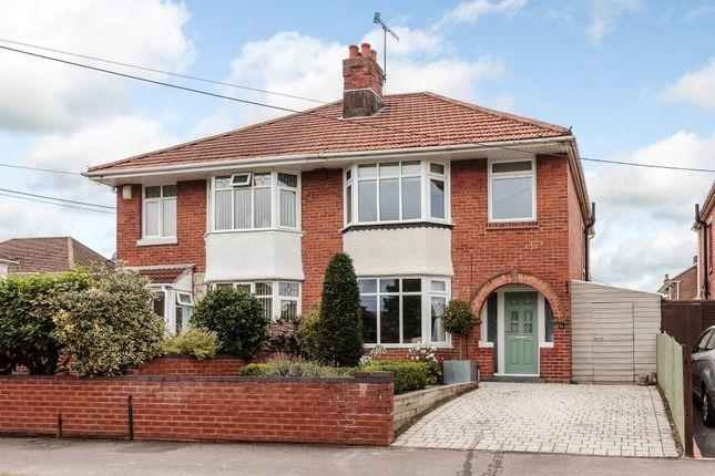 Thumbnail Semi-detached house for sale in Elmes Drive, Regents Park, Hampshire, Southampton