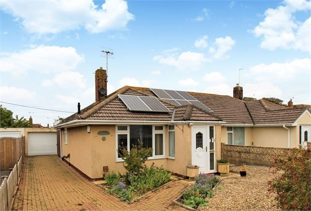 Thumbnail Semi-detached bungalow for sale in Rydal Avenue, Locking, Weston-Super-Mare, North Somerset.
