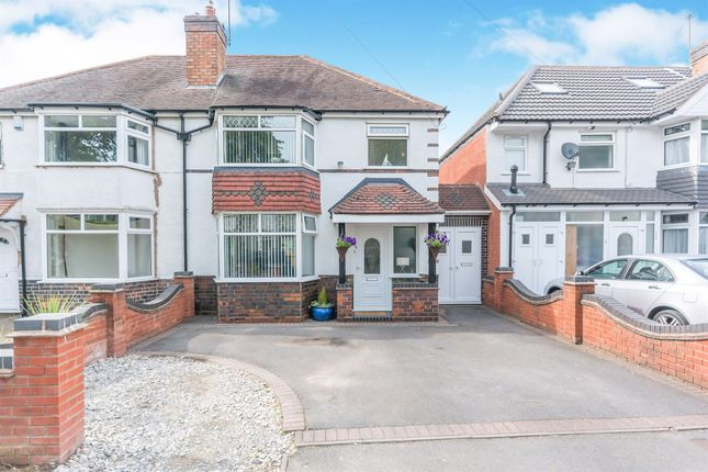 Thumbnail Semi-detached house for sale in Scribers Lane, Hall Green, Birmingham