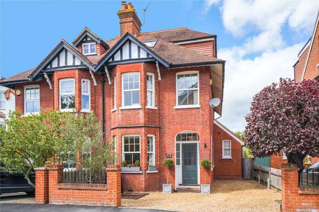 Thumbnail Semi-detached house for sale in Portmore Park Road, Weybridge, Surrey
