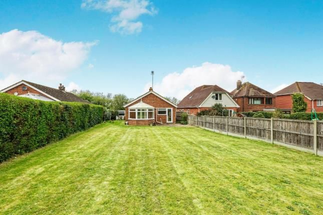 Rear View of New House Lane, Canterbury, Kent, United Kingdom CT4