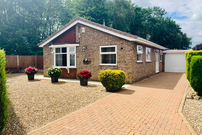 Thumbnail Detached bungalow for sale in Lytham Close, Washingborough, Lincoln
