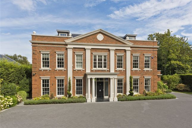 Thumbnail Detached house for sale in Broadwater Close, Burwood Park, Walton-On-Thames, Surrey