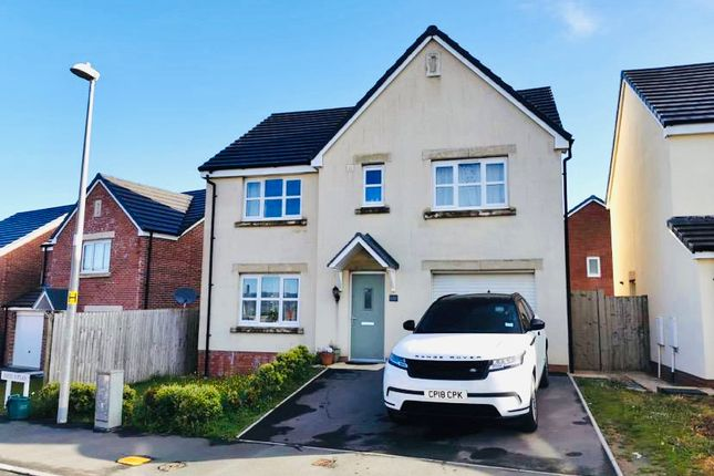 Thumbnail Detached house for sale in Heol Waungron, Llanelli