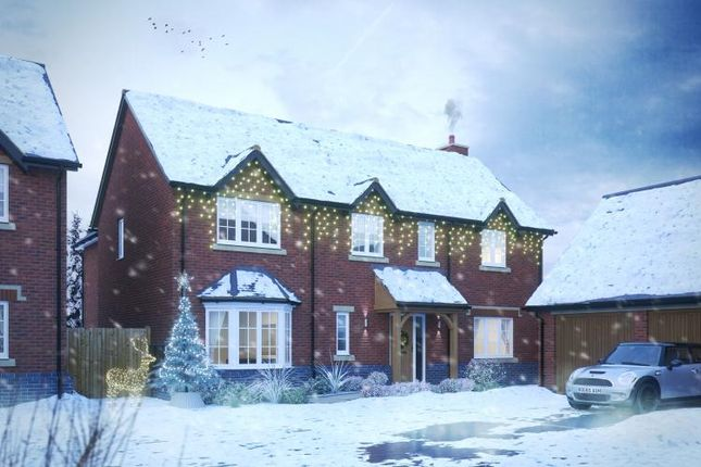 Thumbnail Detached house for sale in Aylesbury Road, Lapworth