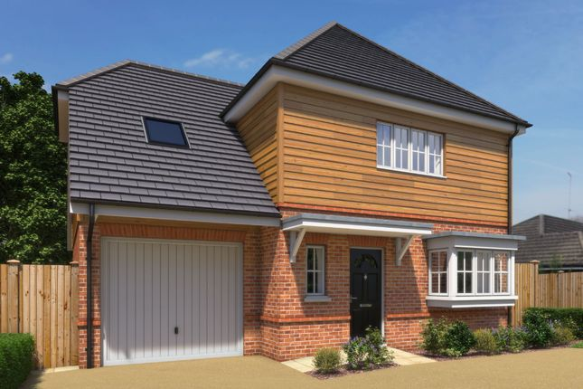 Thumbnail Detached house for sale in Cromwell Road, Shaw, Newbury