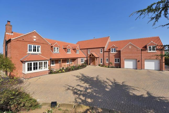 Thumbnail Detached house for sale in Cliff Lane, Marston, Grantham