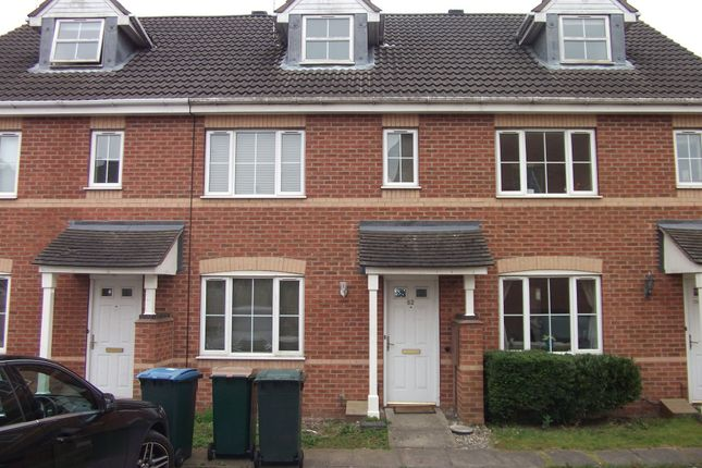 Thumbnail Terraced house to rent in Gillquart Way, Coventry