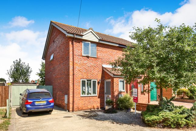 Thumbnail Semi-detached house for sale in Meadow Way, Hellesdon, Norwich