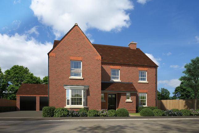 "Thumbnail Detached house for sale in ""Manning"" at Fox Lane, Green Street, Kempsey, Worcester"
