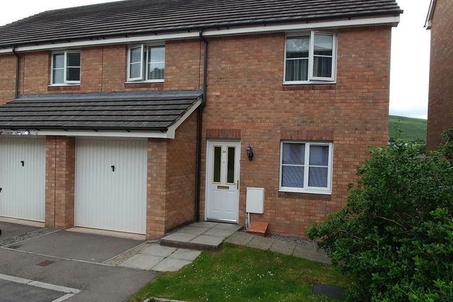Thumbnail Semi-detached house for sale in Under The Meio, Abertridwr, Caerphilly