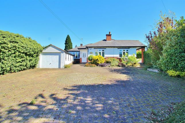 Thumbnail Detached bungalow for sale in Melton Road, Rearsby, Leicestershire
