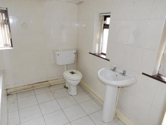 Bathroom of Reginald Road, St Helens, Merseyside, Uk WA9