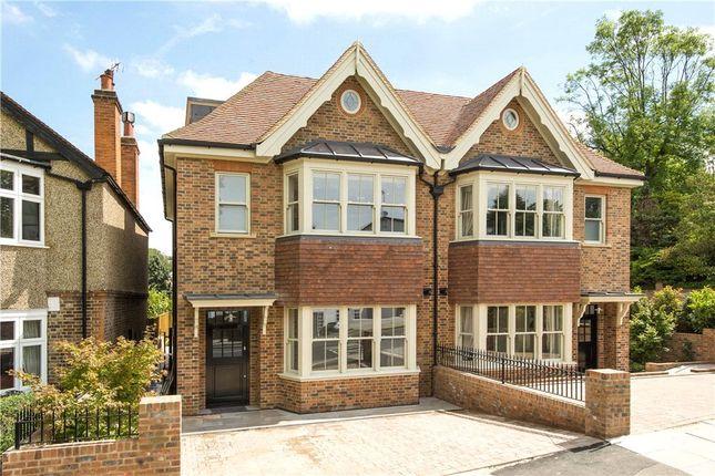 Thumbnail Semi-detached house for sale in Marryat Place, Wimbledon