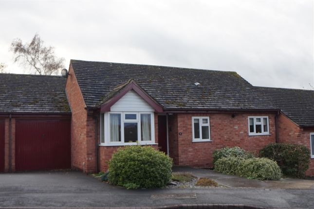 Thumbnail Terraced bungalow for sale in Wallis Close, Thurcaston, Leicester