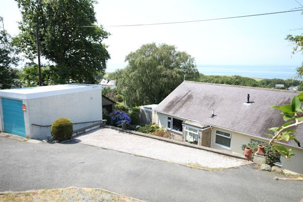 Thumbnail Detached bungalow for sale in College Road, Llwyngwril