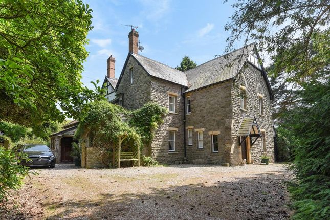 Thumbnail Detached house for sale in Hay On Wye 5 Miles, Glasbury On Wye
