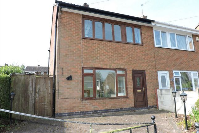 Thumbnail Semi-detached house to rent in Beech Avenue, Alfreton, Derbyshire