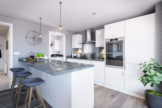 """4 bed detached house for sale in """"The Barnwell 4th Edition"""" at Davidsons At Wellington Place, Leicester Road, Market Harborough LE16"""