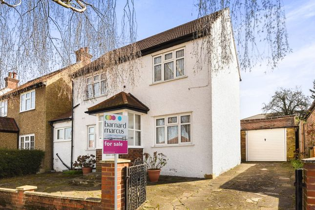 Thumbnail Detached house for sale in The Kingsway, Ewell, Epsom
