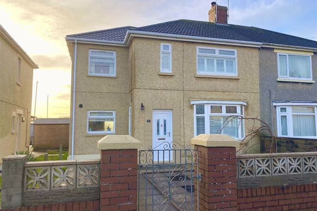 Thumbnail Semi-detached house for sale in Burrows Terrace, Burry Port
