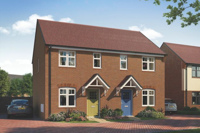 Thumbnail Semi-detached house for sale in York Road, Priorslee, Telford