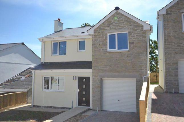 Thumbnail Detached house to rent in Glendorgal Park, Drakewalls, Gunnislake, Cornwall
