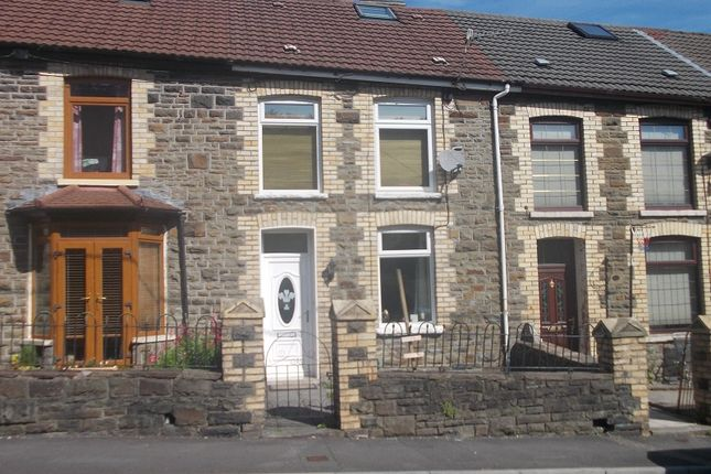 Thumbnail Terraced house for sale in Park Road, Cwmparc, Treorchy, Rhondda Cynon Taff.