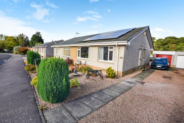 Thumbnail 2 bed semi-detached bungalow for sale in The Nurseries, Glencarse, Perth
