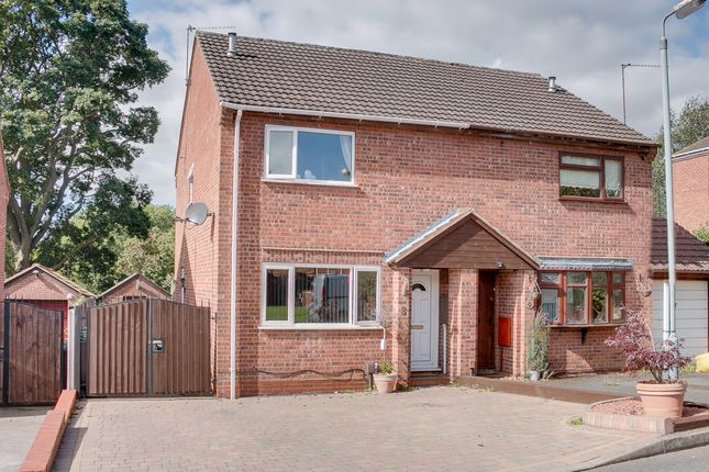 Thumbnail Semi-detached house to rent in Spinney Mews, Headless Cross, Redditch