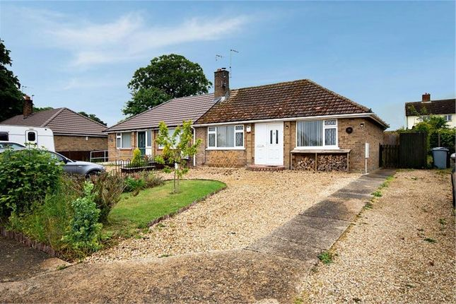 Thumbnail Semi-detached bungalow for sale in Northerns Close, North Witham, Grantham, Lincolnshire