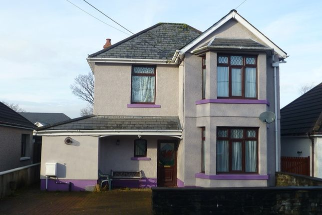 Thumbnail Detached house for sale in Wernddu Road, Ammanford, Carmarthenshire.