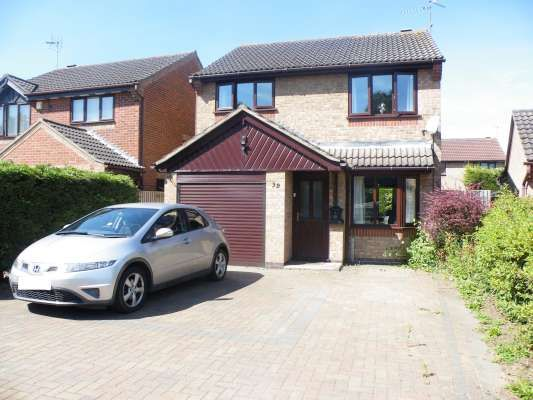 Thumbnail Detached house to rent in Lavington Grange, Parnwell, Peterborough