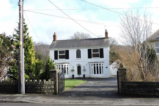 Thumbnail Detached house for sale in Pontardawe Road, Clydach, Swansea