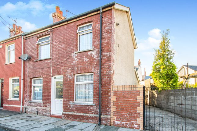 Thumbnail End terrace house for sale in Weston Street, Barry