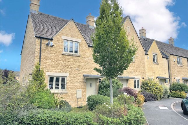 Thumbnail End terrace house to rent in Buncombe Way, Cirencester, Gloucesteshire