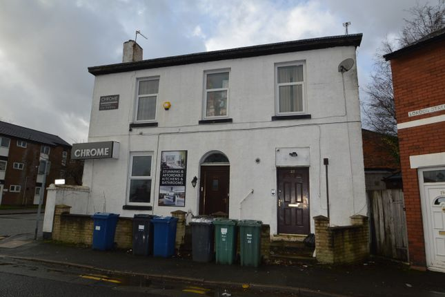 Thumbnail Flat to rent in London Street, Whitefield, Manchester