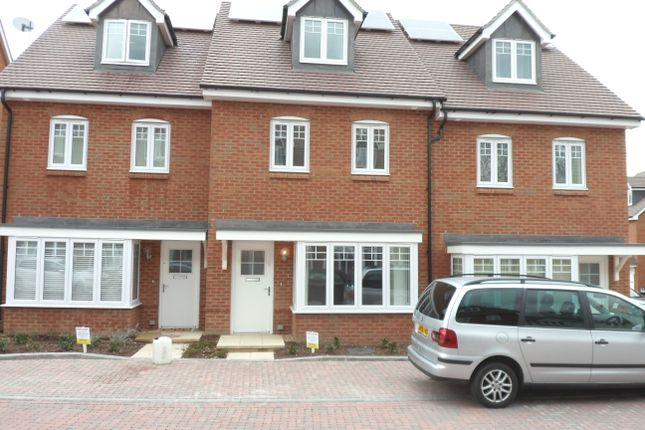 Thumbnail Terraced house to rent in Elham Crescent, Dartford