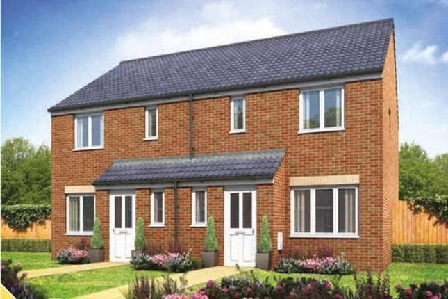 Thumbnail Terraced house for sale in Galileo, The Hanbury, Cranbrook, Near Exeter