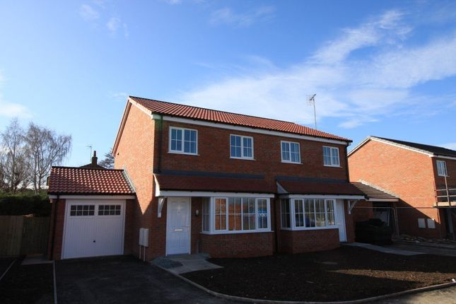 Thumbnail Semi-detached house to rent in Linden Fields, Little Minsterley, Minsterley, Shrewsbury