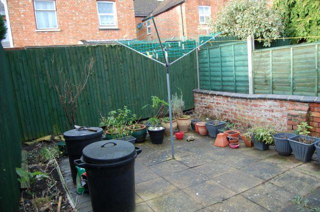 Rear Garden of Wycliffe Road, Abington, Northampton NN1