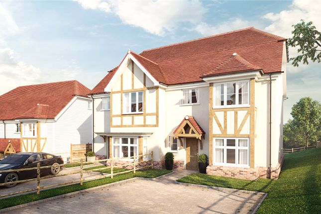 Thumbnail Semi-detached house for sale in Gill Wood, Wadhurst, East Sussex