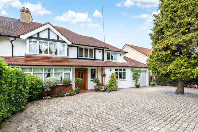 Thumbnail Semi-detached house for sale in Grove Wood Hill, Coulsdon