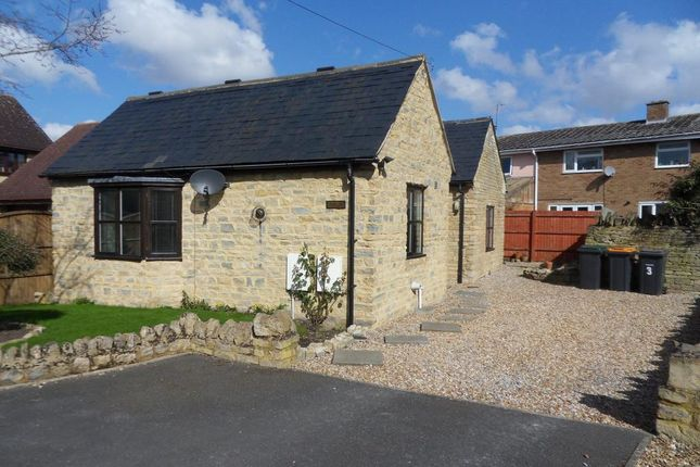 Thumbnail Detached bungalow to rent in Laws Close, High Street, Turvey